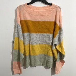 H&M stripe sweater